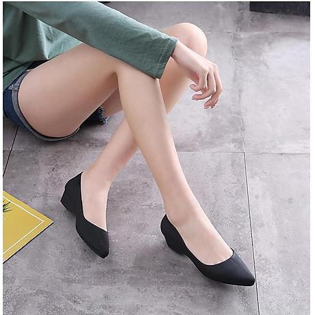 Giày Búp Bê Nữ Đế Bệt Nhựa Dẻo Êm Ái G01 6