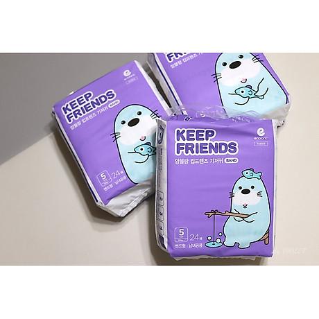 Tã dán nội địa Hàn Quốc Enblanc Keep Friend size 5 (XL 24 miếng) 2