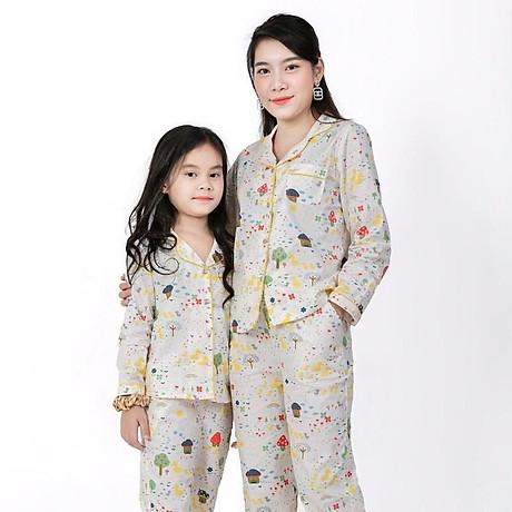 Đồ bộ Pijama Mẹ và Bé 1