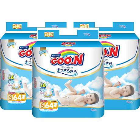 Combo 3 Gói Tã Dán Goo.n Premium Cực Đại S64 (64 Miếng) - Tặng 1 Tã Dán Đại S36 (36 Miếng) 2