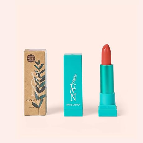 SON LÌ TRANG ĐIỂM- VCN - Matte Lipstick - 3 Romantic Orange 1