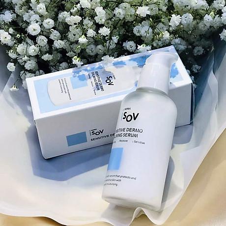 Serum phục hồi cho da nhạy cảm Isov Sensitive Dermo Calming Serum 80ml 3