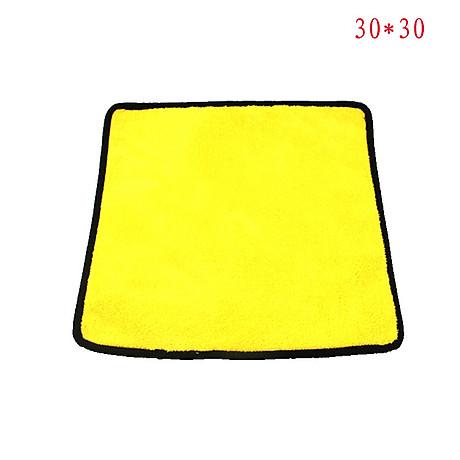 Khăn Lau Chuyên Dùng Xe Ô Tô Đa Năng Siêu Thấm 30x30 3
