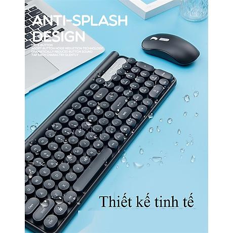 Bộ bàn phím và chuột không dây LT400 phiên bản sạc (tặng kèm lót chuột) - Hàng Nhập Khẩu 2