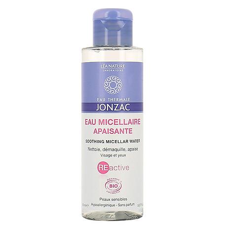 Nước tẩy trang dịu nhẹ dành cho da nhạy cảm Eau Thermale Jonzac Soothing Micellaire Water 150ml 1