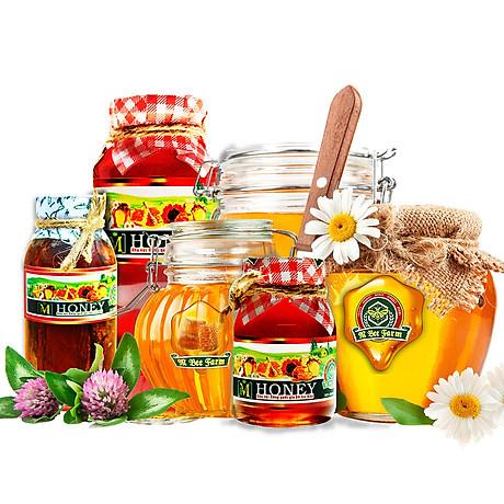 Mật ong rừng ngâm Nhục Quế M Honey - Hỗ trợ tim mạch, chức năng não bộ và sinh lý - 100ml 3