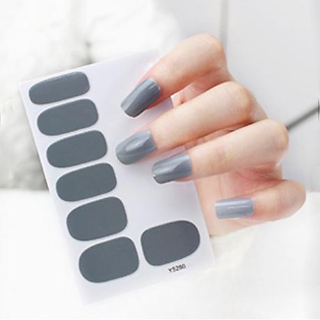 Sticker dán móng tay siêu dễ thương (Kèm dũa và khăn) 2