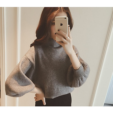 Áo len gân nữ ấm áp Haint Boutique Al40 4