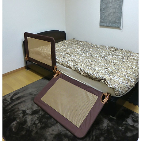 Set 2 thanh chắn giường S (nâu) AgileJapan Nhật Bản 3