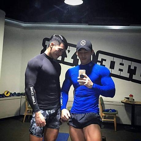 Áo Ngắn Tay Tập Gym Nam - Hàng Siêu Cấp 6