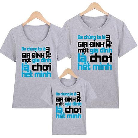Áo thun nữ - áo gia đình in hình - GĐM14- Giá Trên là giá cho 1 chiếc áo 7