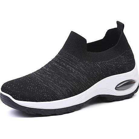 Giày thể thao sneaker vải chun tuyệt đẹp cho nữ - SB101 2