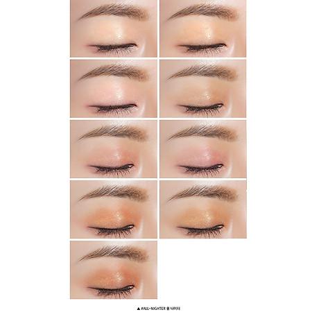 Bảng Phấn Mắt 9 Màu Dạng Nhũ Lấp Lánh Ánh Sao 3CE Multi Eye Color Palette All Nighter 5