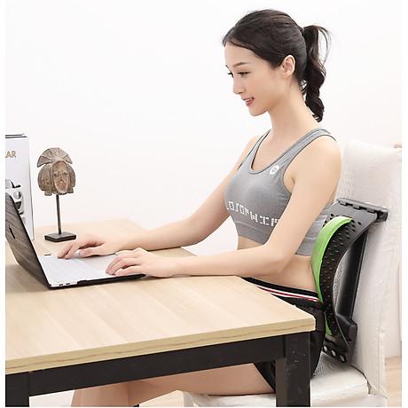 Dụng cụ tập cơ lưng, hỗ trợ điều trị thoái hóa khớp, thoát vị đễ đệm, đau lưng và mỏi vai gáy (Màu ngẫu nhiên) 6