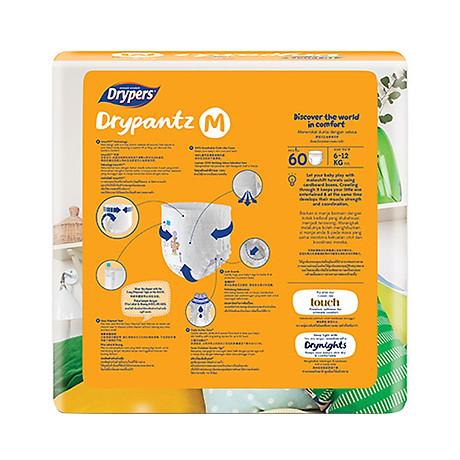 Tã Quần Drypers Drypantz Cực Đại M60 (60 Miếng) 3