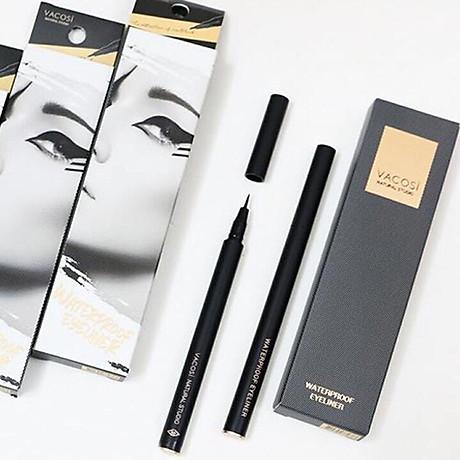 Bút Kẻ Mắt Nước Siêu Lì - Sắc Mảnh Vacosi Waterproof Eyeliner Pen 2