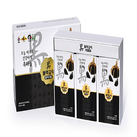 Nước Tỏi Đen Blacklabel (Hộp 10 Gói 12g) Hộp nhỏ ( Hàng nhập khẩu cao cấp Hàn Quốc) 2
