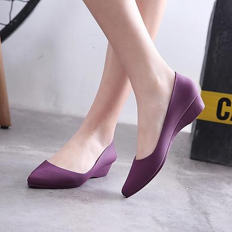 Giày Búp Bê Nữ Đế Bệt Nhựa Dẻo Êm Ái G01 2