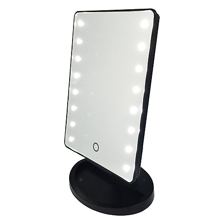 Gương Trang Điểm Để Bàn LED Chữ Nhật 3