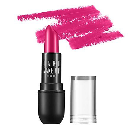 Son thỏi siêu lì chuẩn màu Dabo Make Up Real RouGe Matte Hàn Quốc No.101 (Magenta Pink) Tặng móc khoá 5
