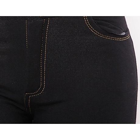 Quần Legging lửng thun giả Jeans cao cấp 3