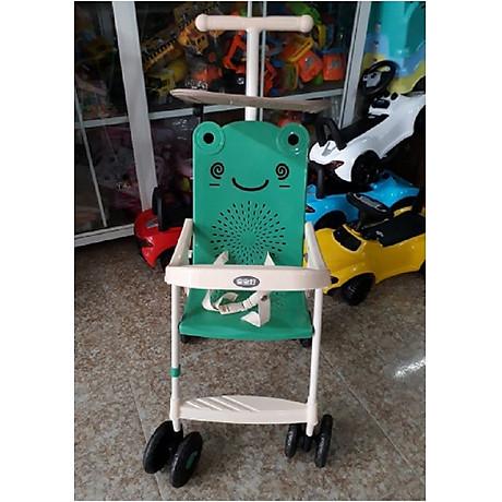 Xe đẩy du lịch (có mái che, phanh chân, bảo hiểm, túi đồ)- màu cho bé trai- chọn màu ngẫu nhiên 3