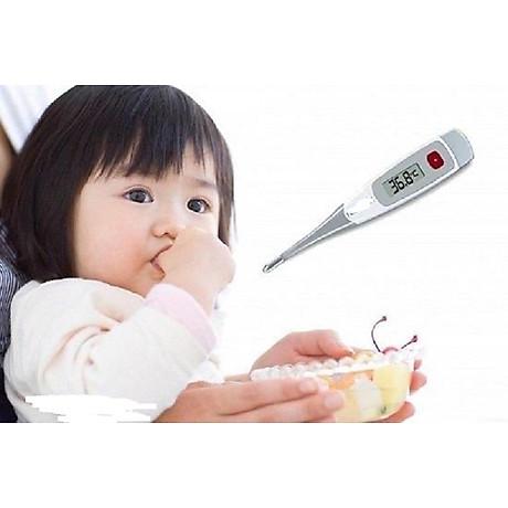 Nhiệt kế điện tử đầu dẻo đo nhiệt độ cho bé TG380 2