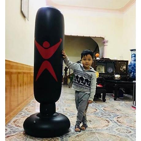 Bao trụ đấm bốc 2.0 PRO X tự cân bằng PVC, bao tập võ Boxing 6