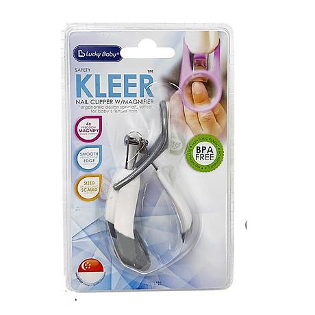 Bấm cắt móng cho bé có kính lúp Lucky Baby - Safety Kleer Nail Clipper W Magnifier 609439 1