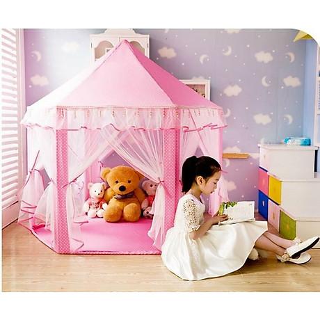 Lều công chúa cho bé yêu tặng kèm đèn nháy sao 3 mét trang trí 6