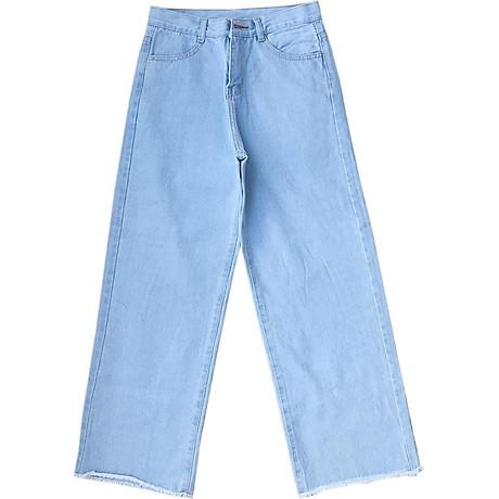 Quần Jean Nữ Ống Rộng Cotton 9 Tất (từ 45kg-56kg) 5