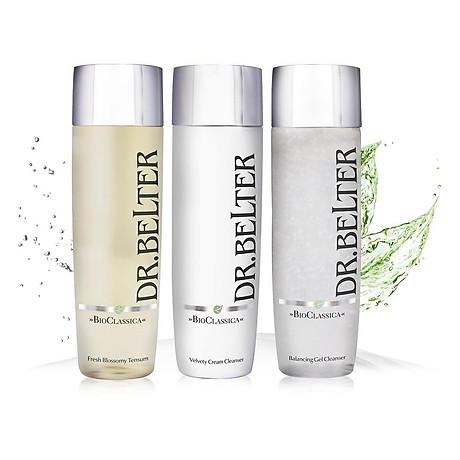 Sữa rửa mặt chiết xuất tơ tằm dưỡng ẩm chống lão hoá Dr.Belter Bio-Classica Velvety Cream Cleanser 200ml 6