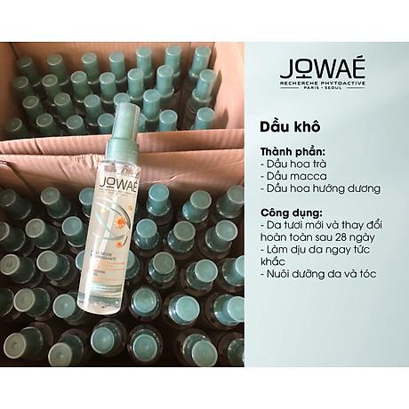 Dầu khô nuôi dưỡng da và tóc Jowae Hàng chính hãng từ Pháp Nourishing Dry Oil 100ml 2