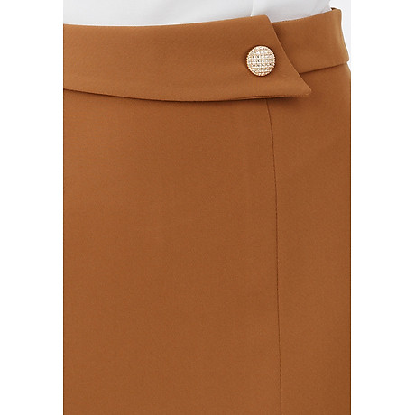 Chân váy ôm form dài phối nút 5