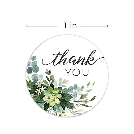 500pcs Per Roll Thank You Sealing Stickers Round Paper Labels Christmas Sticker 7