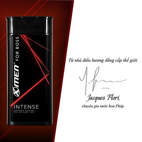 Dầu gội nước hoa X-Men For Boss Intense - Mùi hương trầm đầy nội lực 380g 3