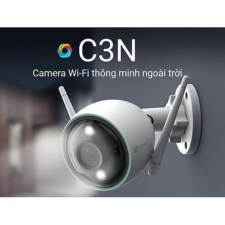 Camera IP Wifi ngoài trời EZVIZ C3N 1080P - ban đêm có màu - hổ trợ thẻ nhớ lên đến 256G - hàng nhập khẩu 2