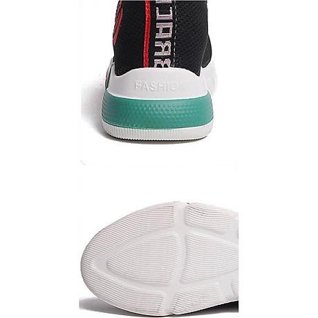 Giày sneaker thể thao nữ buộc dây phong cách hàn quốc màu đen, trắng size 36 đến 40 V179 8