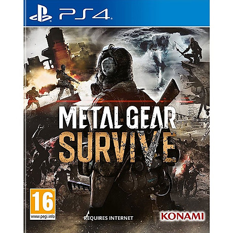 Đĩa Game Ps4 Metal Gear Survive - Hàng nhập khẩu 1