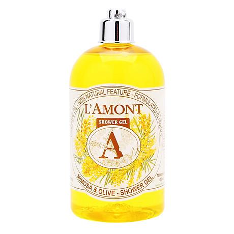 Sữa Tắm L amont En Provence Mimosa Shower Gel - Hương hoa Mimosa 500ml 1