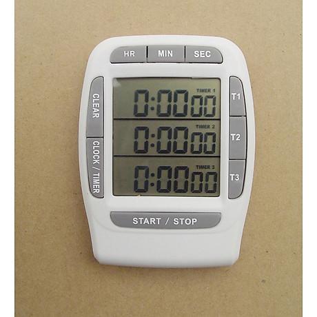 Đồng hồ đếm ngược version 1 (độ chính xác cao, có chuông báo) - Tặng kèm quạt cắm cổng USB mini (vỏ nhựa, giao màu ngẫu nhiên) 3