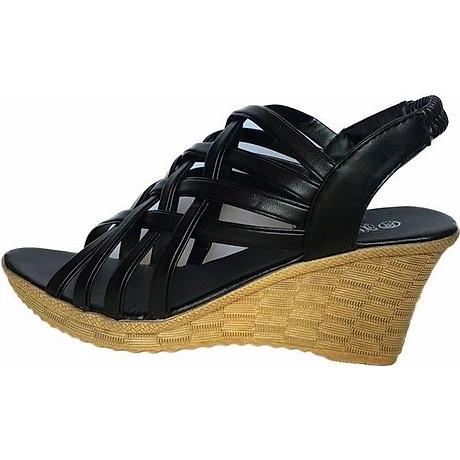 Giày Sandal Nữ Đế Xuồng Rọ C63 6