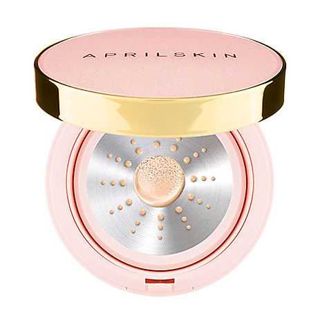 Phấn Aprilskin Essence Shower Cushion_pink 1