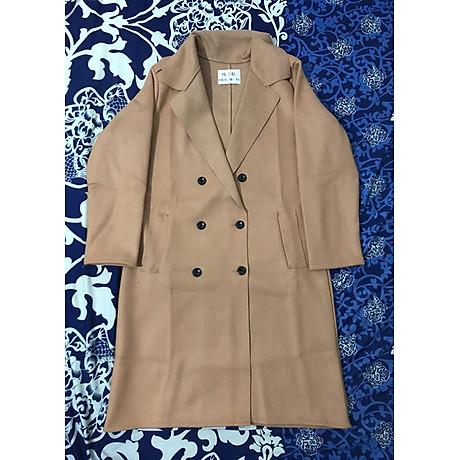 áo khoác dạ nữ dài 2