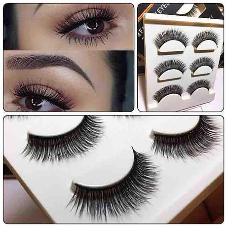 Lông mi chồn 3 Fashion Eyelashes 3 Faux (Dày mi L18) 4