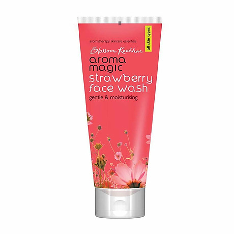Sữa rửa mặt Aroma Magic Strawberry Face Wash - 100ml 1