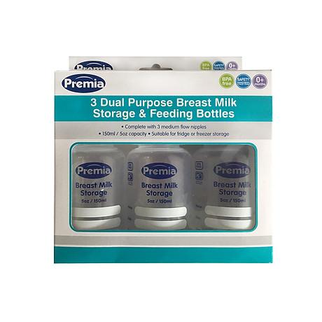 Nhiệt kế hồng ngoại đo trán Microlife FR1MF1 tặng kèm 03 bình trữ sữa Premia 3