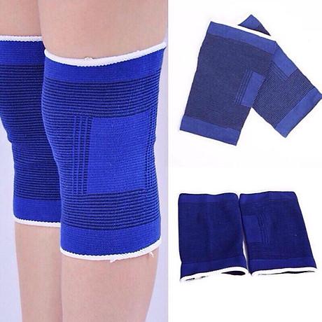 Băng bảo vệ đầu gối quấn gối, bảo vệ tránh chấn thương chạy thể dục giao màu ngẫu nhiên 3