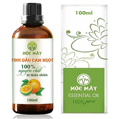 Tinh dầu Cam ngọt 100ml Mộc Mây - tinh dầu thiên nhiên nguyên chất 100% - chất lượng và mùi hương vượt trội 1
