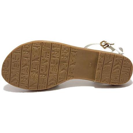Sandal ZAHAN bệt, quai chéo, SDZA03 5